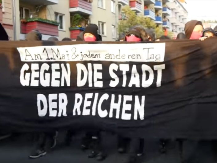 Revolutionäre 1. Mai-Demonstration Berlin